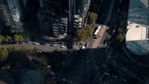 City-Trafic-Melbourne-CBD-Australia-Filmmaking-PONY film