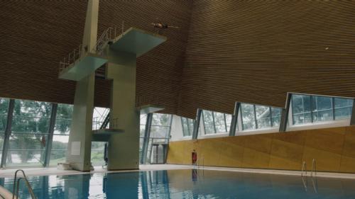 Commercial Shoot, Schoonspringen, Zwembad, PONYfilm