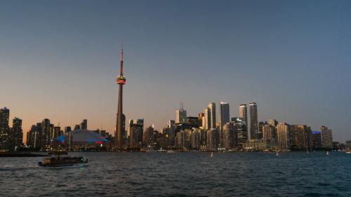 Toronto, Skyline, photograph, foto, kleur, wolkenkrabbers, PONYfilm